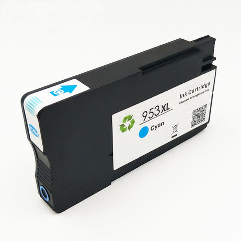 Compatible HP 953XL Cyan Ink Cartridge only - Swan Cartridges & 3D Printers