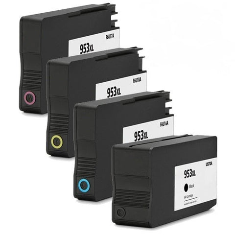 Compatible HP 953XL Value Pack Ink Cartridge - Swan Cartridges