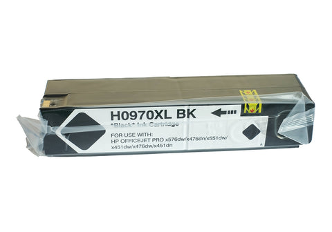 Compatible HP 970XL Black Ink Cartridge only - Swan Cartridges & 3D Printers