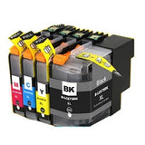 Compatible Brother LC 675XL Cyan  Ink Cartridge - Swan Cartridges