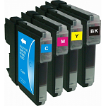 Compatible Brother LC38 Cyan Ink Cartridge - Swan Cartridges