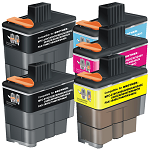 Compatible Brother LC47 Cyan Ink Cartridge - Swan Cartridges