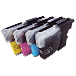 Compatible Brother LC39 Yellow Ink Cartridge - Swan Cartridges