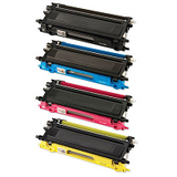 Compatible Brother TN240 Yellow Toner Cartridge - Swan Cartridges