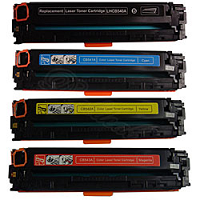 Compatible HP CB542A (125A) Yellow Toner Cartridge only - Swan Cartridges & 3D Printers