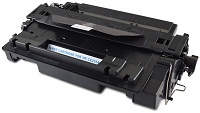 Compatible HP CE255A Black Toner Cartridge - Swan Cartridges