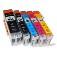 Compatible Canon PGi450 XL & CLi451 XL Ink Cartridge Value Pack - Swan Cartridges