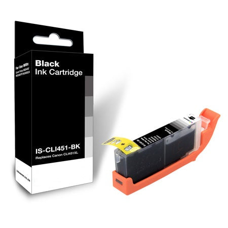 Compatible Canon CLi-451XXL Black Ink Cartridge only - Swan Cartridges