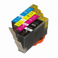 Compatible HP655 Value Pack Ink Cartridges - Swan Cartridges