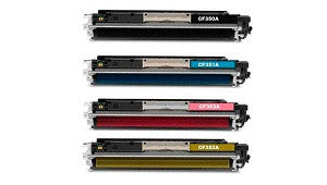 Compatible HP CF352A (130A)  Yellow Toner Cartridge - Swan Cartridges