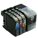 Compatible Brother LC 535 XL Cyan Ink Cartridge - Swan Cartridges