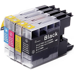Compatible Brother LC77 Ink Cartridge Value Pack - Swan Cartridges & 3D Printers