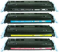 Compatible HP Q6000A (124A) Black Toner Cartridge - Swan Cartridges