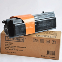 Compatible Kyocera TK130 Black Toner Cartridge - Swan Cartridges