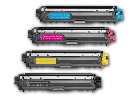 Compatible Brother TN265 Yellow Toner Cartridge only - Swan Cartridges
