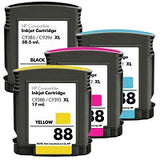 Compatible HP 88XL Ink Cartridge Value Pack - Swan Cartridges & 3D Printers