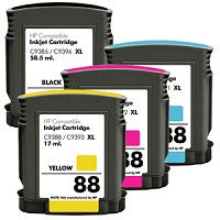 Compatible HP 88XL Ink Cartridge Value Pack - Swan Cartridges