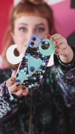 Load and play video in Gallery viewer, Blue Ouija Planchette Phone Case