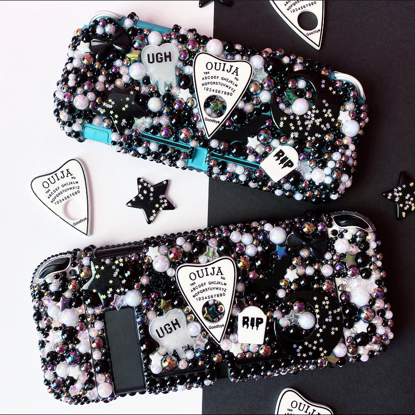 White Planchette Switch Lite Case