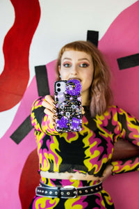 Bad Bitch Phone Case With Grip