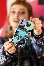 Load image into Gallery viewer, Blue Ouija Planchette Phone Case