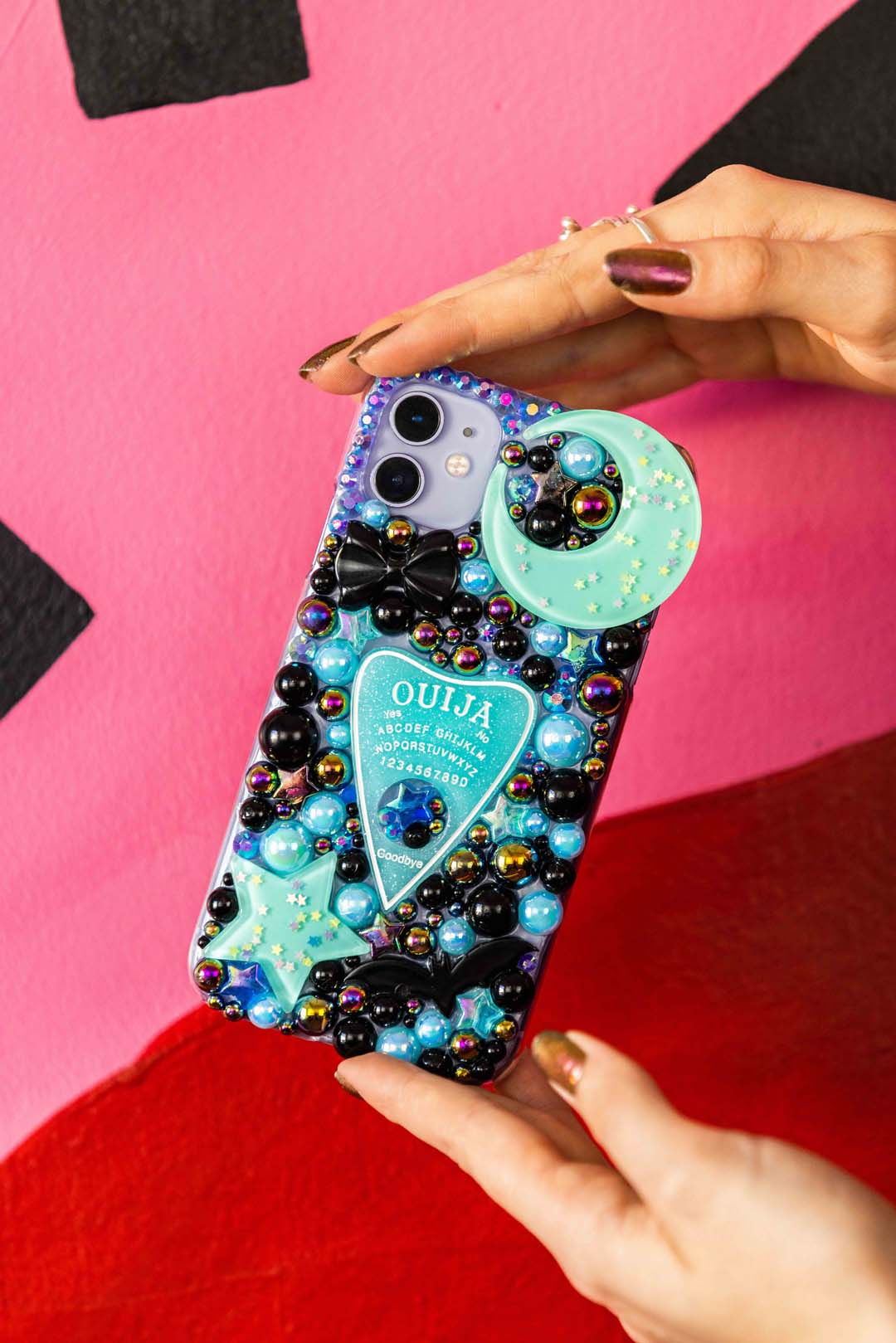 Blue Ouija Planchette Phone Case