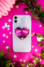 Load image into Gallery viewer, Pink UGH! Phone Case Grip