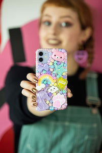 Pastel Unicorn Layered Phone Case