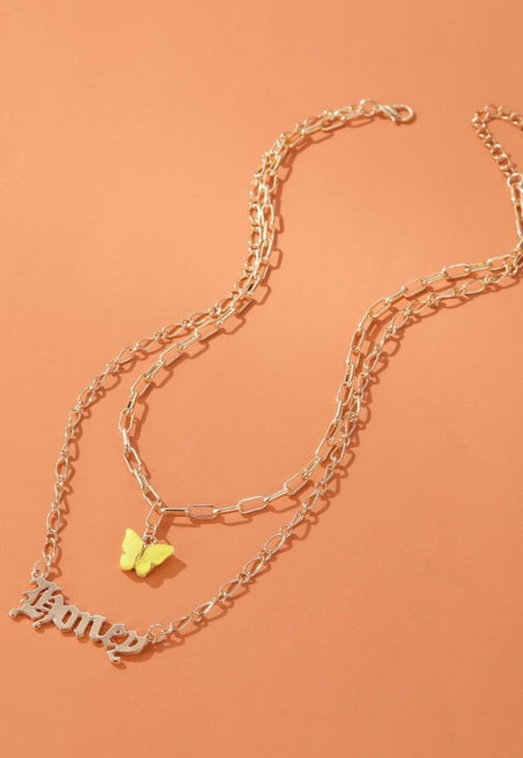 Honey Chain Necklace