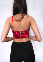Load image into Gallery viewer, Bustier Chain Strap Cami Top