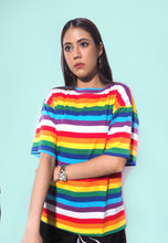 Load image into Gallery viewer, Rainbow Pride Oversized Tee