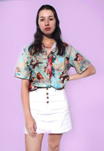 Load image into Gallery viewer, Retro Angel Print Loose Shirt
