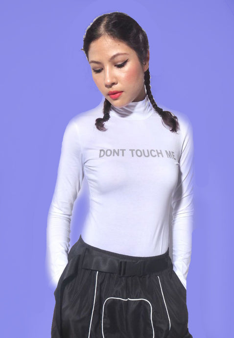 Dont Touch Me Reflective Bodysuit