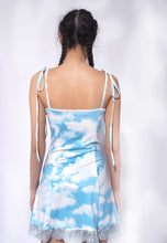 Load image into Gallery viewer, Cloud Print A Line Dress