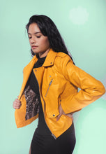 Load image into Gallery viewer, Biker PU Leather Jacket