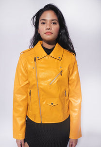 Biker PU Leather Jacket