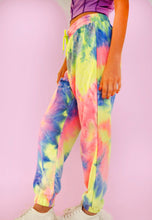 Load image into Gallery viewer, Neon Tie Dye Comfy Joggers