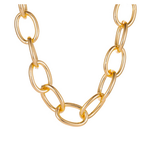 Y2K Aesthetic Necklace - Gold