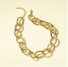 Load image into Gallery viewer, Y2K Aesthetic Necklace - Gold