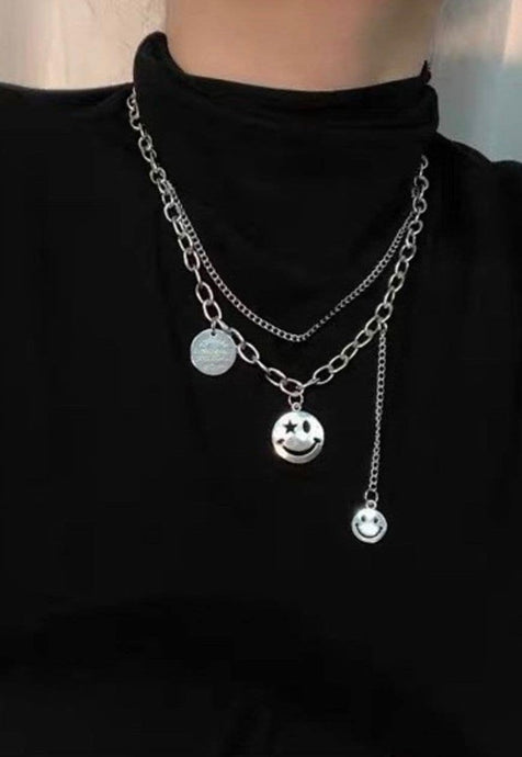 Tags Chain Necklace