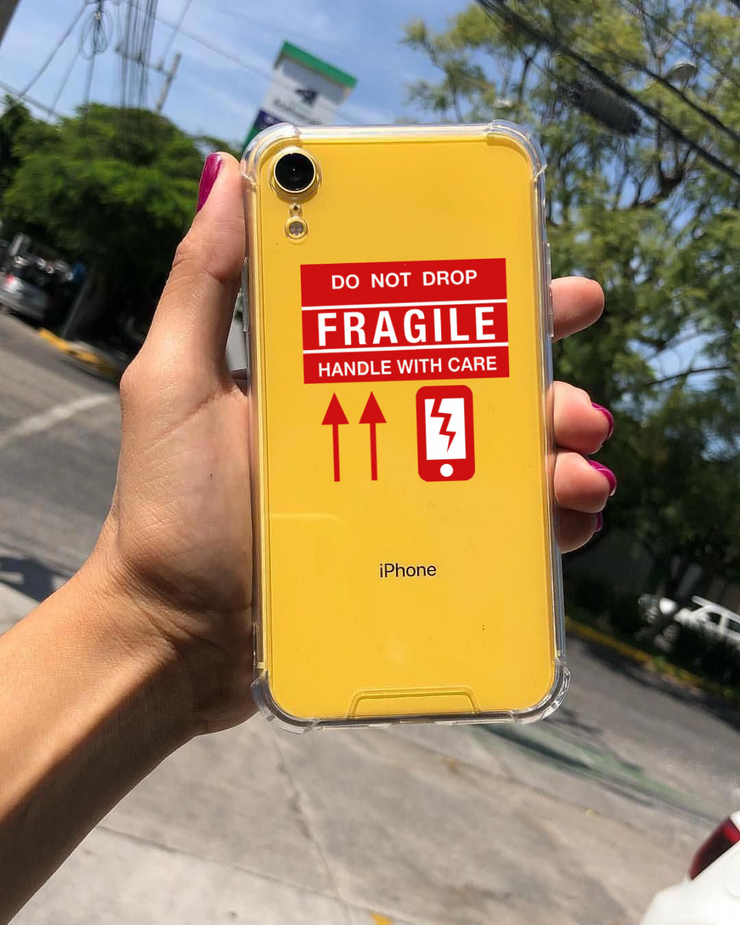 FRAGILE Phone Case - iCaseLeluxe