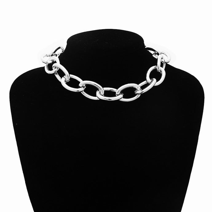 Gothic Punk Choker Necklace
