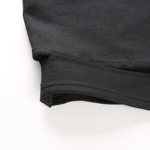 Black Hollow Out Buckle Tank Top - iCaseLeluxe