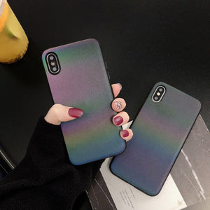 Holographic Reflective Phone Case - iCaseLeluxe