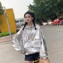 Load image into Gallery viewer, Holographic Rain Coat Jacket - iCaseLeluxe