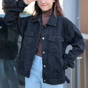 Oversized Denim Winter Jacket - iCaseLeluxe