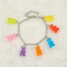 Load image into Gallery viewer, Gummy Bear Chain Bracelet - iCaseLeluxe
