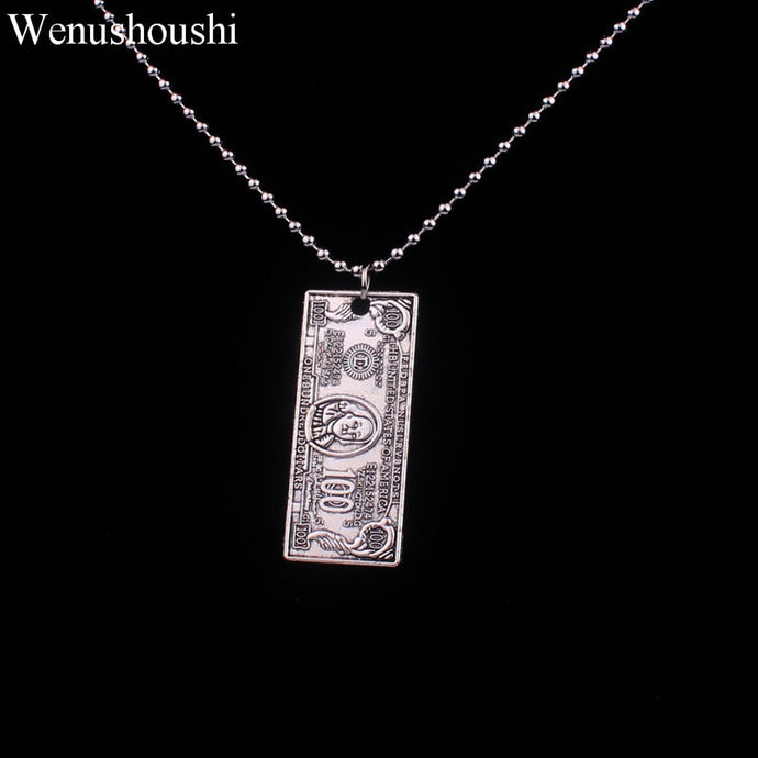 Dollar Bill  Money Chain Necklace - iCaseLeluxe