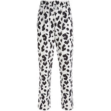 Load image into Gallery viewer, Elastic High Waist Cow Print Pants - iCaseLeluxe