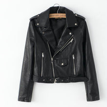Load image into Gallery viewer, Biker PU Leather Jacket - iCaseLeluxe